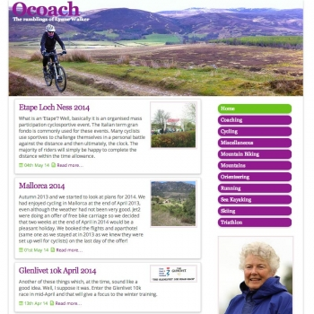 www.ocoach.co.uk, PFweb