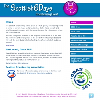 www.scottish6days.com, PFweb