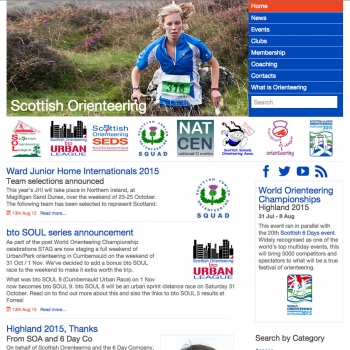 www.scottish-orienteering.org, PFweb